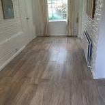 Ceramic tiles over underfloor heating