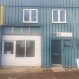 Business Unit Exterior Cladding Security Door