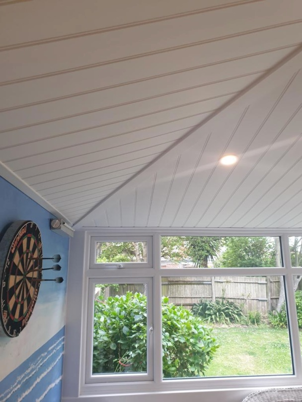 Conservatory UPVC Cladded Insulated Ceiling
