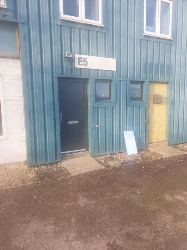 Exterior Security Door