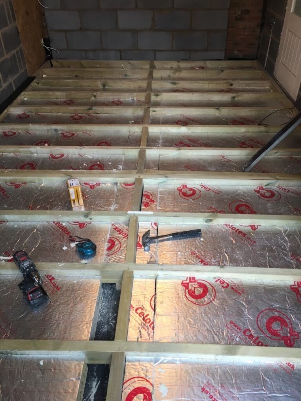 Floor Joists and Insulation