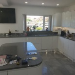 Kitchen Island and Granite worktops