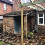 Rear Extension Decking Birdham