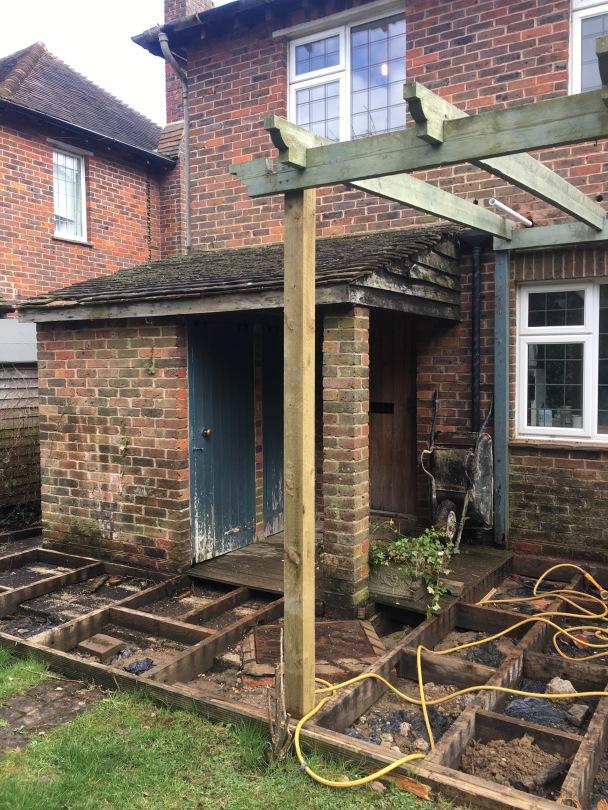 Rear Extension Decking Birdham